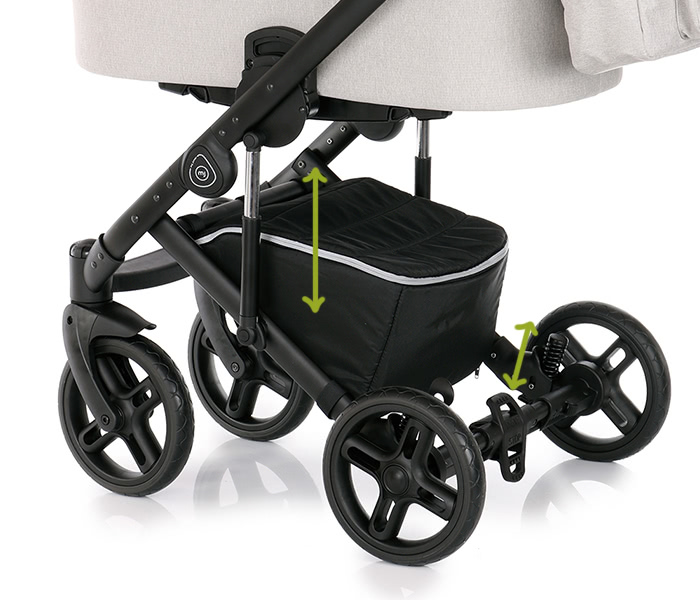 My Junior Kinderwagen Noax Federung