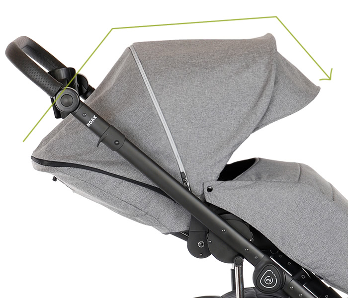 My Junior Kinderwagen Noax Verdeck