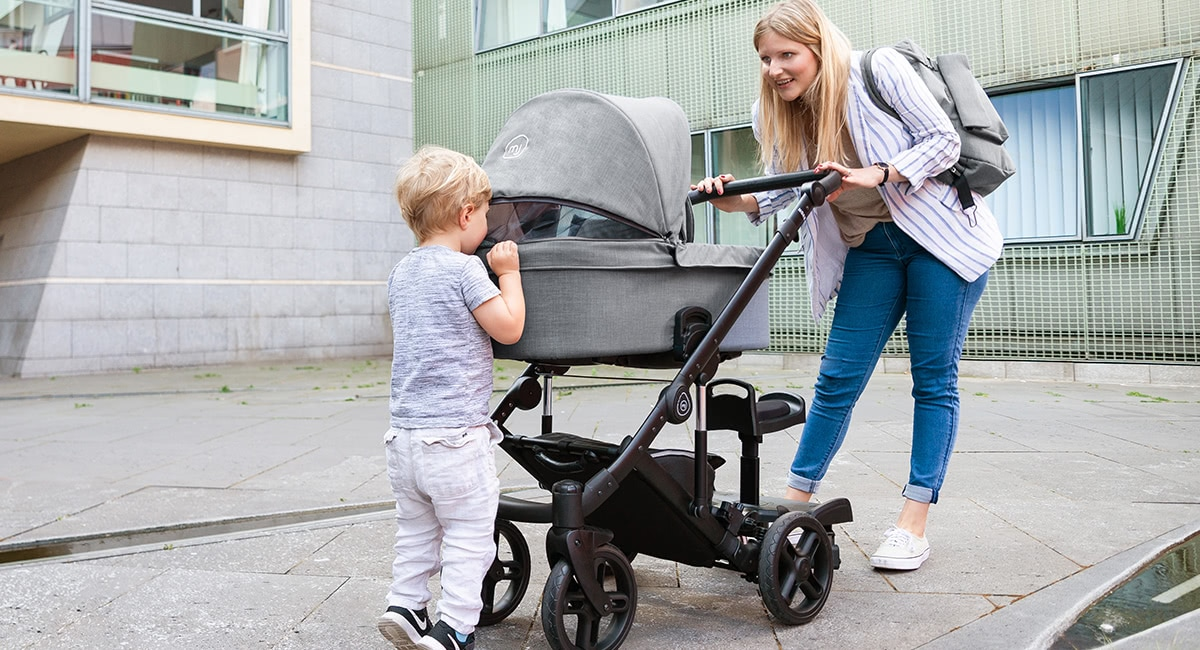 My Junior Kinderwagen Noax Sicherheit