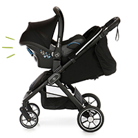My Junior Kinderwagen Buggy Plia Babyschalen kompatibel