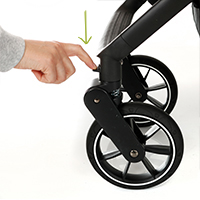 My Junior Kinderwagen Buggy Plia Vorderreifen
