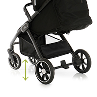 My Junior Kinderwagen Buggy Plia Luftkammerreifen