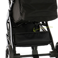 My Junior Kinderwagen Buggy Plia Einkaufskorb