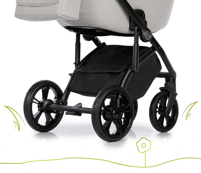 My Junior Kinderwagen Vita unique Luftreifen