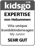 My Junior Kinderwagen Kidsgo Siegel